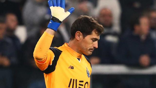 Almoço de Iker Casillas invadido por gaivota