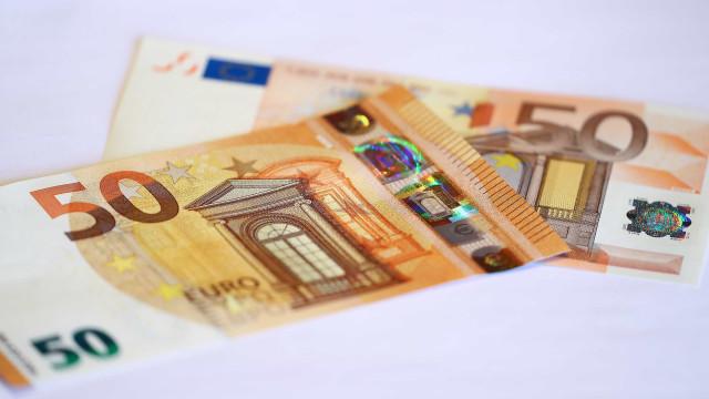 Notas falsas de 50 euros provenientes de França passadas em Portugal