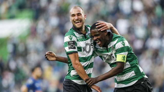 Juventus já contactou Sporting por William Carvalho