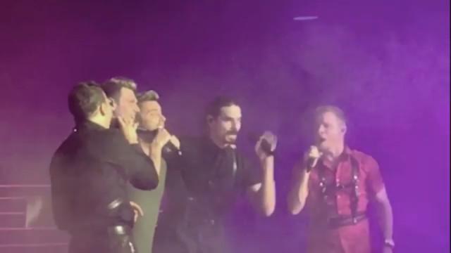 Vários feridos em acidente em concerto dos Backstreet Boys