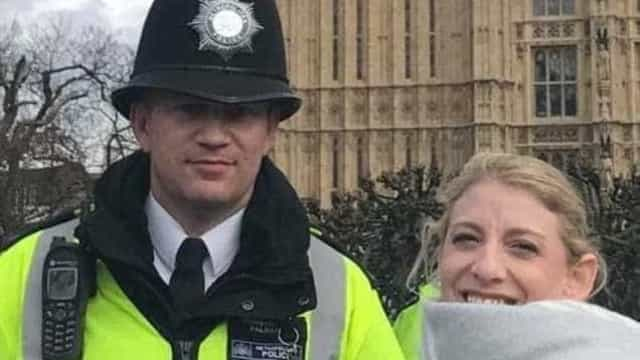 Herói de Londres tirou foto com turista 45 minutos antes de ser morto