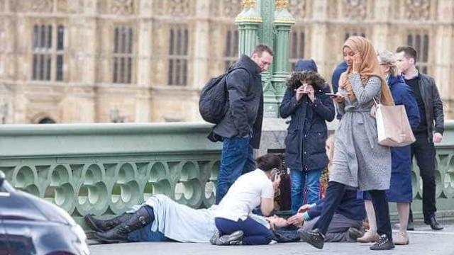 Fotógrafo explica fotografia do ataque a Londres que gerou controvérsia
