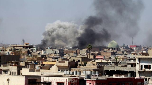 """Em Mossul já se diz que é questão """"de dias"""" até Daesh ser derrotado"""