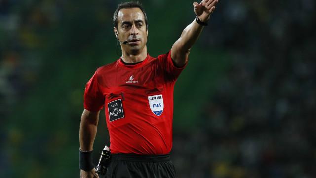 Jorge Sousa vai apitar o duelo entre o Sporting e o Sp. Braga