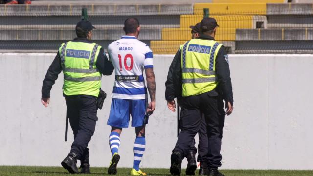 MP pede condenação de atleta do Canelas 2010 acusado de agredir árbitro