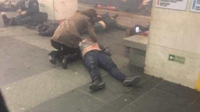 São Petersburgo: Foram utilizadas bombas com pregos no interior