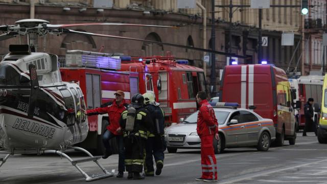 São Petersburgo: Número de mortos subiu para 11, três dias de luto