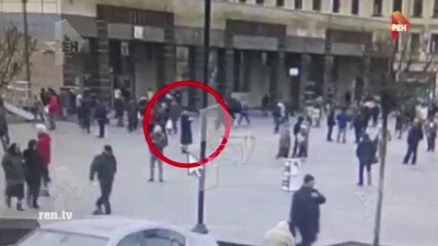 Vídeo mostra alegado bombista momentos antes da explosão