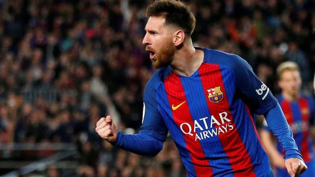 Messi eleito o melhor jogador da história do campeonato espanhol