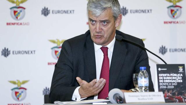 Soares de Oliveira explica subida de preços nos bilhetes da Champions