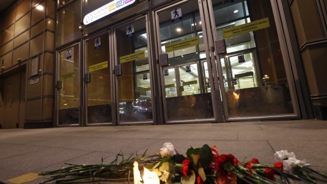 Subiu para 14 o número de mortos em ataque em São Petersburgo