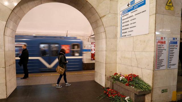 Nova ameaça de bomba no metro de São Petersburgo