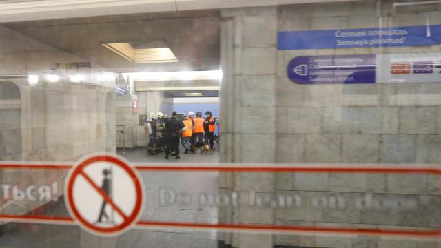 """Condutor do metro elogiado pelas autoridades. """"Não houve tempo para medo"""""""
