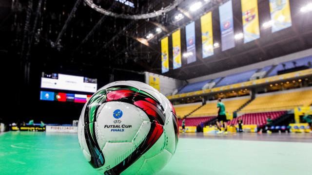 Futsal: Sporting e Sp. Braga já conhecem adversários na ronda elite
