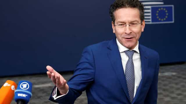 "Dijsselbloem: ""Sou presidente até dia 12 de janeiro e Mário Centeno a 13"""