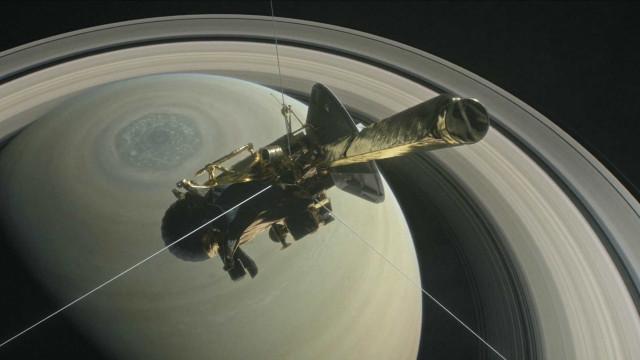 A Cassini vai despenhar-se em Saturno e vai poder 'assistir' em direto