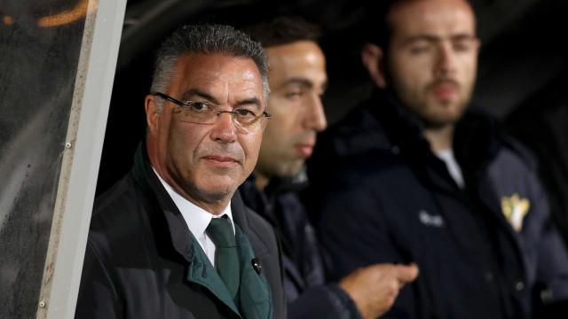 Augusto Inácio está retido nas instalações do Zamalek