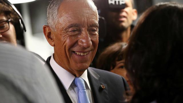 """Marcelo elogia """"perspetiva muito ambiciosa e corajosa"""" de Juncker"""