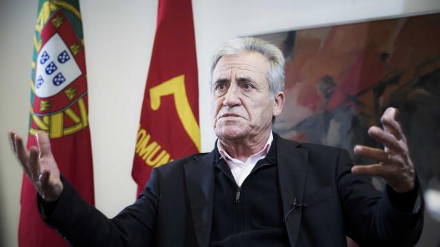 """Jerónimo quer reforço da CDU para torná-la numa """"verdadeira alternativa"""""""