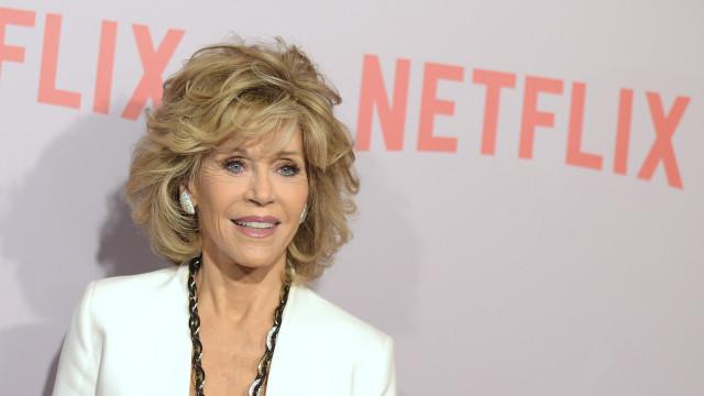 """Aos 80 anos, Jane Fonda confessa: """"Eu achava que não ia viver muito"""""""