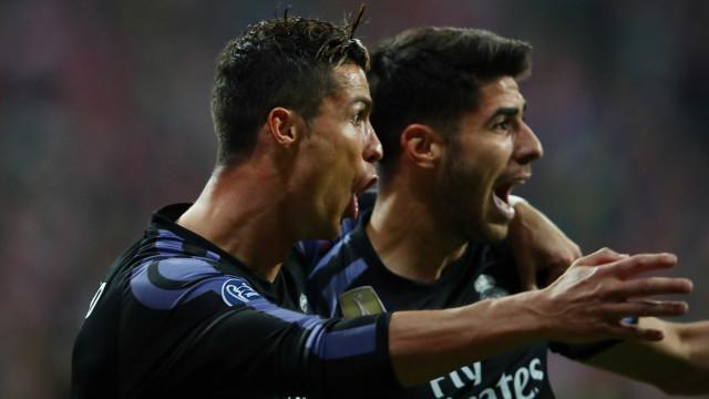 """O conselho de Asensio: """"Cuidado com Ronaldo. Ferido é ainda mais forte"""""""