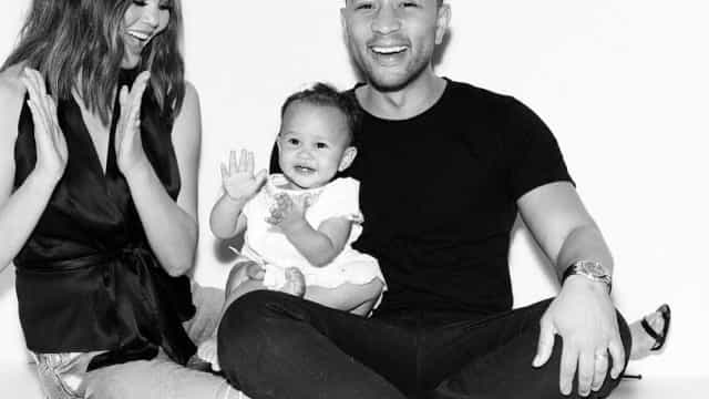 Chrissy Teigen e John Legend foram pais pela segunda vez