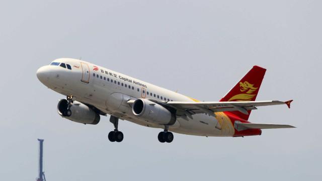 Capital Airlines pede autorização para voo direto entre China e Lisboa