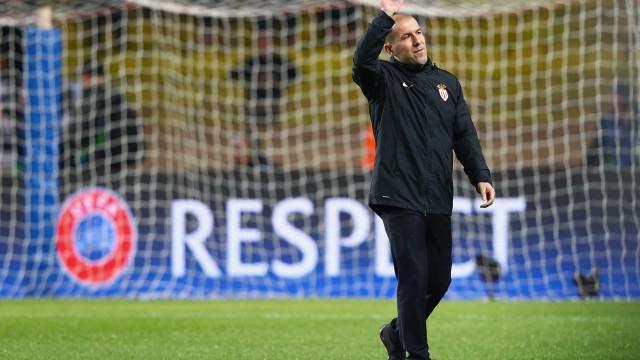 O Monaco empatou e Leonardo Jardim culpou o vento