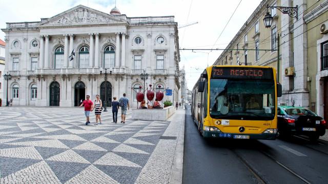 Carris aumentou circulação para fazer face à greve de taxistas