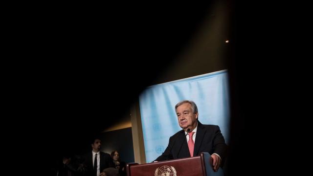 António Guterres parte amanhã para primeira visita a Israel e Palestina