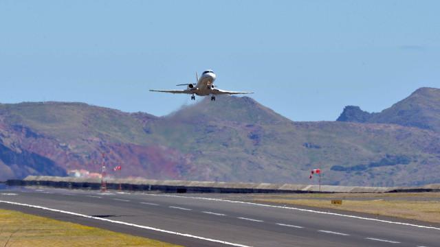 Uma dezena de chegadas canceladas no Aeroporto da Madeira devido ao vento