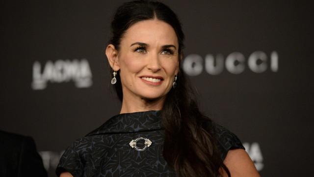 Demi Moore teve uma overdose grave após divórcio com Kutcher