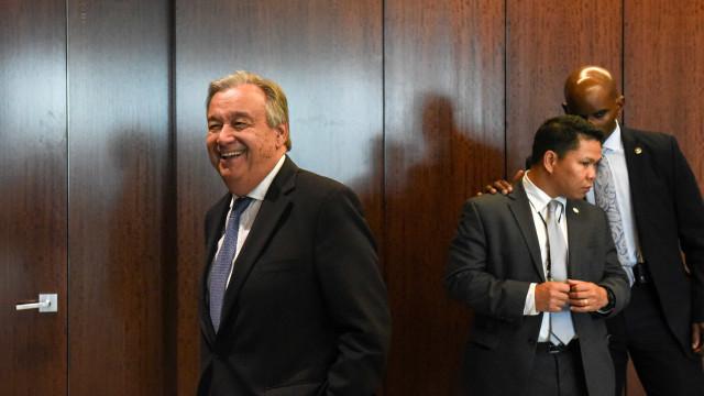 Secretário-Geral da ONU vai este mês à China, Reino Unido, França e Suíça