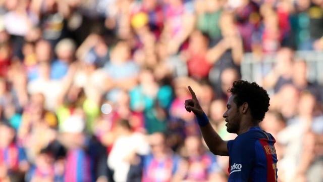 Cheque para libertar Neymar já foi depositado na Liga espanhola