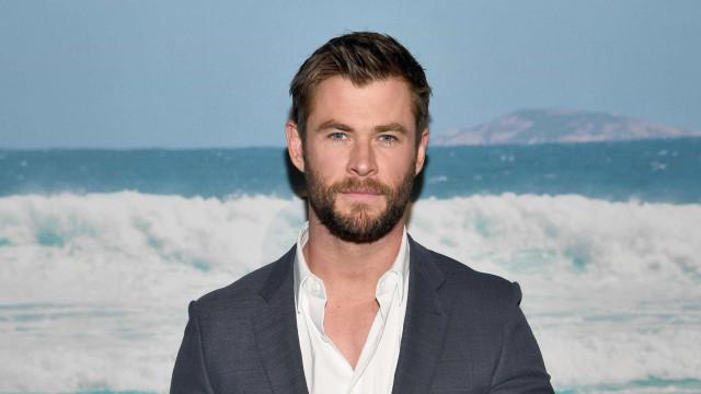 Chris Hemsworth deixa fãs a suspirar com vídeo inspirador (sem camisola)