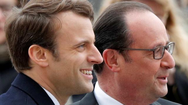 Síria não espera apoio, Líbano e OLP saúdam vitória de Macron