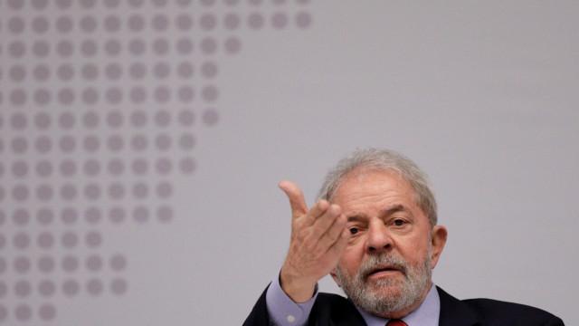 Lula da Silva negoceia termos de entrega com Polícia Federal