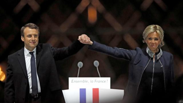 Mulher de Macron também já teve aspirações políticas