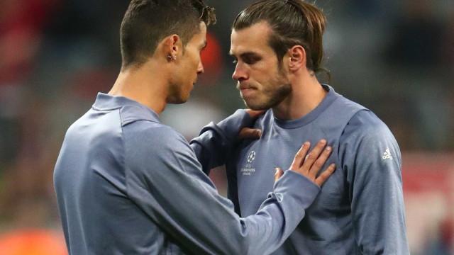 """Bale deixou uma mensagem a Ronaldo: """"És um jogador incrível"""""""