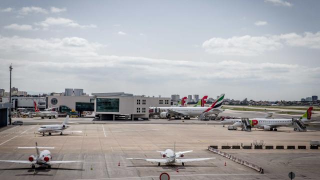Condições meteorológicas afetaram 12 voos no aeroporto de Lisboa