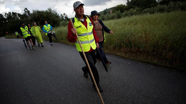 Faltam setas amarelas mas há mais peregrinos de Santiago a sair de Lisboa