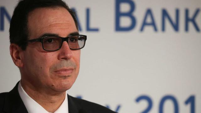 EUA: Secretário do Tesouro cancela participação em conferência em Riade