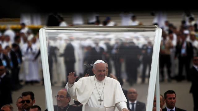 """Papa agradece à Câmara de Ourém os """"dois dias inesquecíveis"""""""