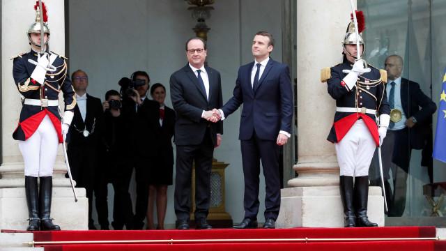Macron tomou posse e tornou-se no mais jovem Presidente de França