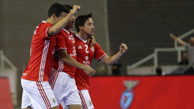 Benfica vence Quinta dos Lombos e garante 'meias' do playoff
