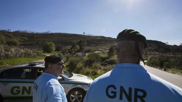 GNR de Vila Real deteve seis suspeitos de tráfico de armas
