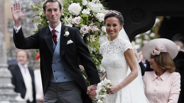 Pippa Middleton está grávida do primeiro filho