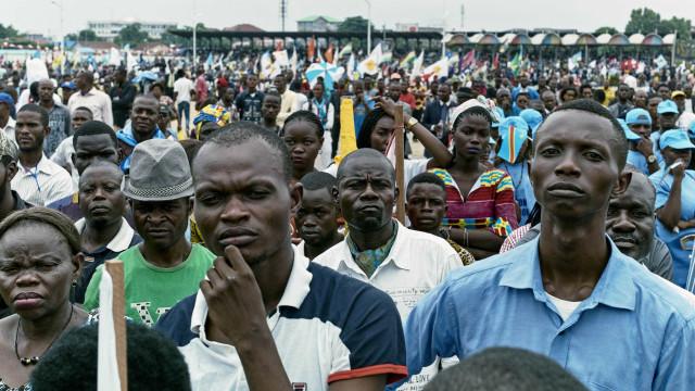 Mais de 922 mil deslocados na República Democrática do Congo