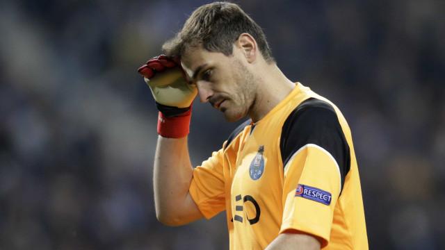 """Iker Casillas responde à imprensa espanhola: """"Não podem viver sem mim"""""""