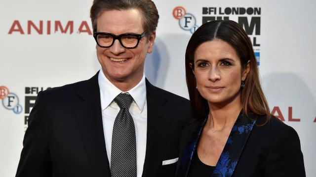 Mulher de Colin Firth admite que teve um caso com jornalista